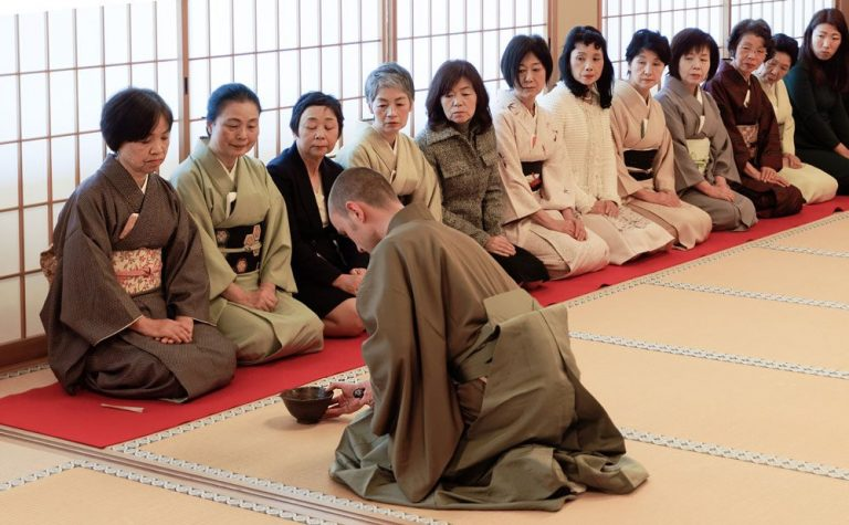 Traditional Tea Ceremony gathering