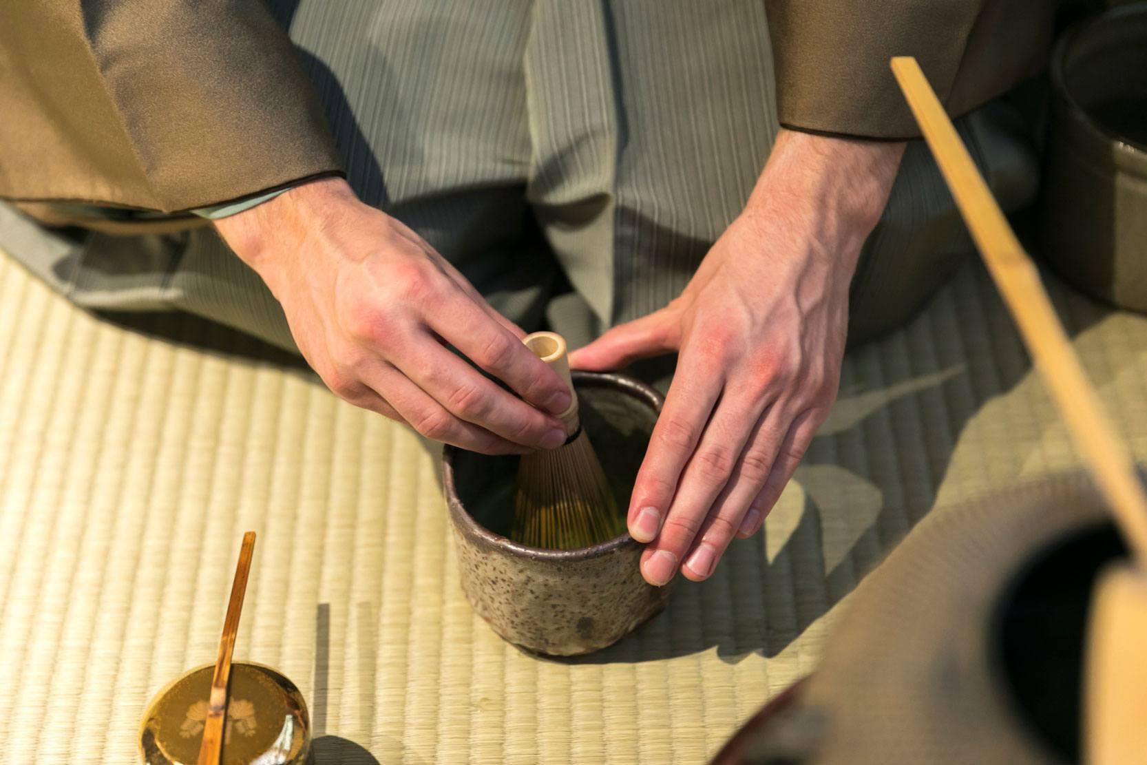 Cérémonie du thé Kyoto