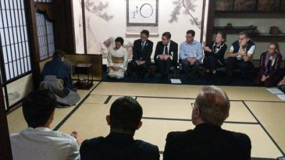 TEA GATHERING FOR THE WORLD FORUM ON SPORT AND CULTURE