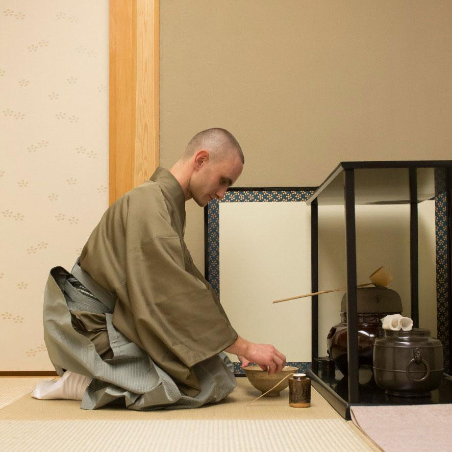 daisu grand sideboard tea ceremony