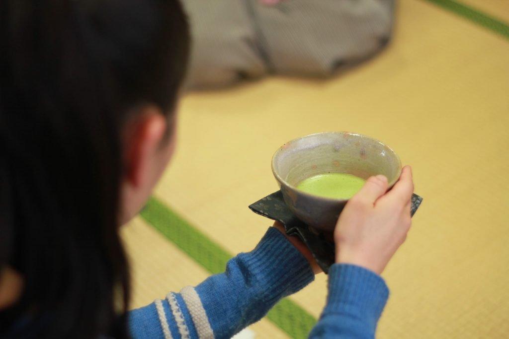 Japanese tea ceremony schools thin tea