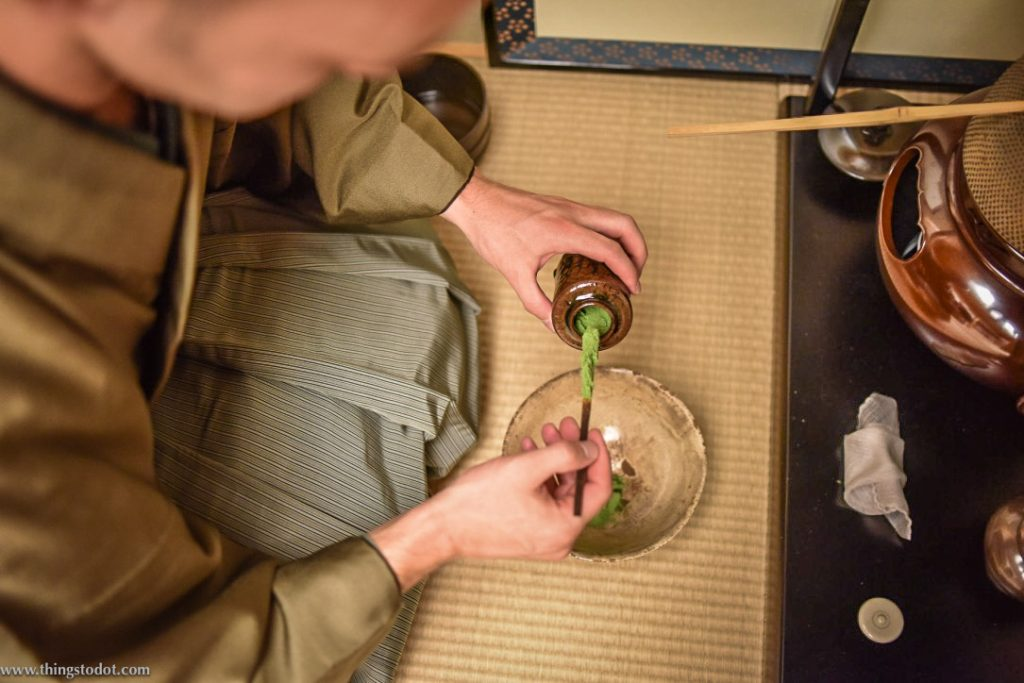 Thick Tea Ceremony Experience