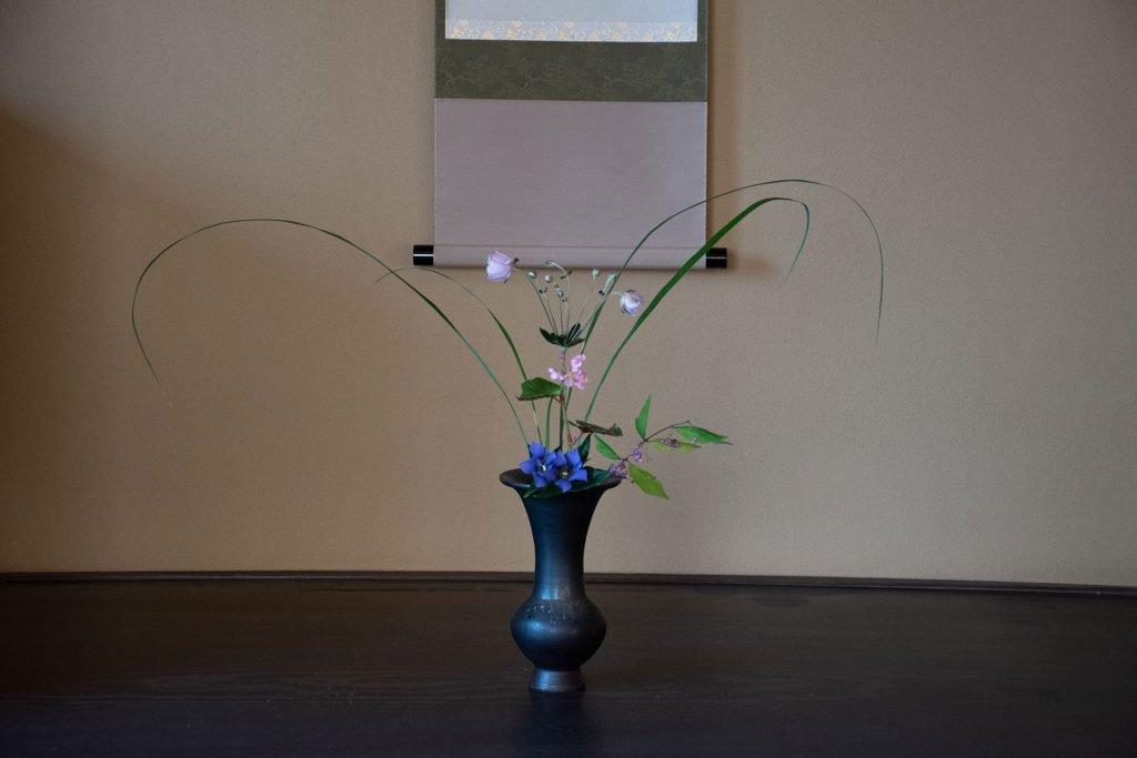 Tea master experience flowers